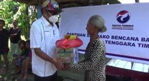 Peduli Bencana, Perindo Salurkan Bantuan Sembako untuk Korban Badai Seroja NTT