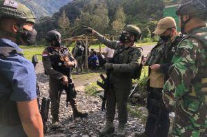 Usai Pukul Mundur OPM, Satgas Ops Nemangkawi TNI-Polri Kendalikan Situasi Keamanan di Beoga Papua