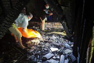 Janda Sebatang Kara di Lamongan Tewas Terpanggang Bersama Rumahnya