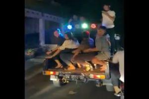 Bone Gempar, Beredar Video Joget Erotis di Atas Pikap sambil Bangunkan Sahur