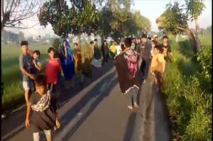 Narmada Lombok Barat Mencekam, 2 Kelompok Pemuda Terlibat Perang Petasan