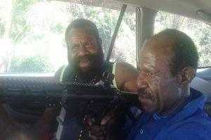 Paniel Kogoya Penyandang Dana Pembelian Senapan Serbu M4 dan M16 ke OPM Ditangkap Satgas Nemangkawi