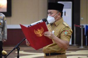 Gubernur Sugianto Sabran Melantik Kepala Perwakilan BPKP Provinsi Kalteng