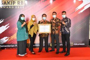 Kabupaten Sumedang Menerima SAKIP RB Award 2020