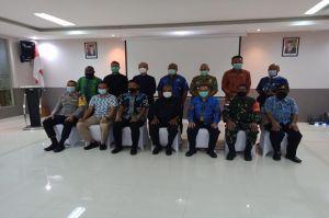 Seluruh Sub Bidang PB PON XX Kabupaten Jayapura Ikuti Rakor Pengecekan Persiapan PON