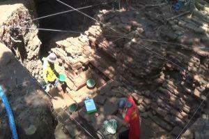 Bangunan Candi Peninggalan Ratu Shima di Abad ke-7 Ditemukan di Pekarangan Warga Rowosari Kendal