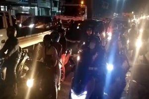 Jelang Larangan Mudik, Jalur Pantura Cirebon Padat Pemudik Pakai Sepeda Motor