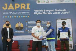 Ridwan Kamil-Hamish Daud Kolaborasi Kelola Sampah Berbasis Digital