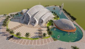 Keren Abis, Ini Penampakan Desain Masjid Akbar Seribu Bulan Rancangan Ridwan Kamil