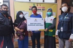 Viral Mudik Jalan Kaki Gombong-Soreang, Gubernur Jabar Beri Bantuan Dani dan Masitoh