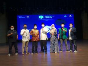 Santri Kabupaten Bandung Dilatih Kuasai Dunia Digital Lewat Lailatul Coding