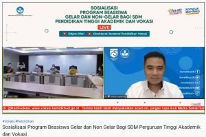 Kemendikbudristek Luncurkan Beasiswa Gelar dan Non-Gelar untuk SDM Vokasi