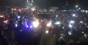Ribuan Pemotor Nekat Mudik Tertahan Penyekatan Petugas, Jalur Pantura Macet 5 Km