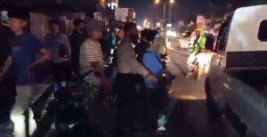 Pemudik Kecelakaan Beruntun di Pantura, 2 Pemotor Tergeletak di Jalan