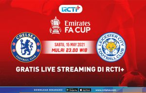 Live Streaming RCTI Plus: Chelsea vs Leicester City