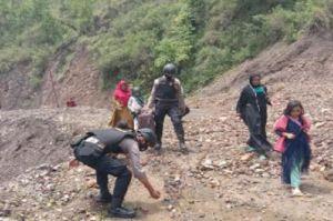 Longsor Timbun Lintas Gayo Lues-Aceh Timur, Akses Jalan Putus Total