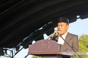 Bupati Musyafirin Terangkan Soal Pembangunan Bandara di Desa Kiantar