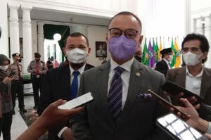 Hadiri Pelantikan Bupati-Wakil Bupati Cianjur, Sekjen PAN: PR Besar Menanti