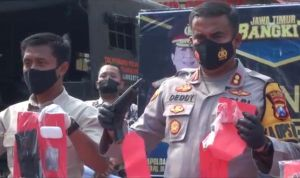Pelaku Curanmor di Mojokerto Makin Nekat, Bawa Senpi Rakitan untuk Ancam Korban