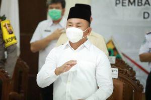 Bersama Kapolda dan Danrem, Gubernur Kalteng Pantau Langsung Vaksinasi Massal