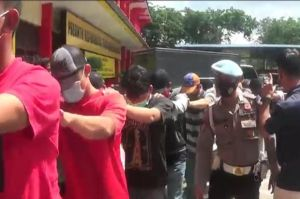 Resahkan Warga, 100 Preman Jalanan di Kota Batam Diringkus Polresta Barelang