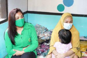 Pasca Operasi Down Sydnrome, Afiq Raanan Dibantu Persit Korem 143/HO
