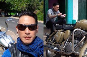 Chef Juna jadi pembicaraan publikkarena aktivitasnya di sebuah klub motor. Yuk, intip pose dan gaya Chef Juna dengan klub motor dan moge kesayangannya.