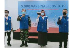 Bantu Pemko Palangka Raya, Tim KILLcovid-19 Launching Kegiatan Percepatan Vaksinasi Covid-19