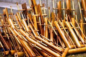 Beredar Daftar Alat Angklung Saung Udjo Dilelang, Ternyata Ini Alasannya