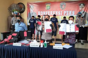 Kasus Swab PCR Palsu, 5 Tersangka Dibekuk Polisi di Bandara Halim
