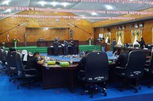 Bupati Asmat Serahkan LKPJ 2016-2021 pada DPRD Asmat