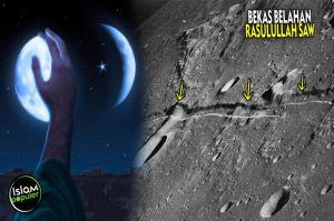 Surat Al Qamar: Mukjizat Nabi Muhammad Membelah Bulan