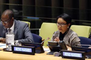 Menlu Retno Marsudi Angkat Pentingnya Ekraf di Sela-sela Sidang Umum PBB