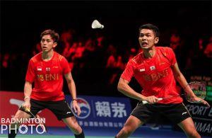 Hasil Final Piala Thomas 2020: Fajar/Rian Perbesar Keunggulan Indonesia atas China