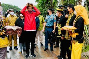 Kasih Bantuan Rp1,2 Juta, Jokowi Serap Optimisme Usaha Kecil di Kaltara