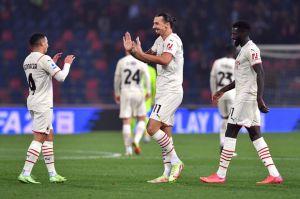 Hasil Liga Italia Bologna v AC Milan: I Rossoneri Menang Dramatis