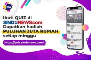 Ikuti Quiz di SINDOnews.com Dapatkan Hadiah Puluhan Juta Rupiah Setiap Minggu