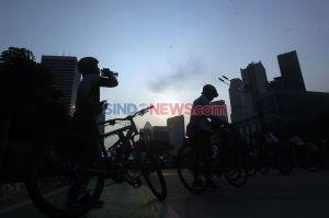 CFD Jakarta Masih Ditiadakan Saat PSBB Transisi, Warga Tetap Antusias Berolahraga