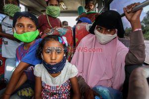 Pemindahan Pengungsi Rohingya ke Penampungan Sementara