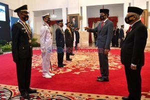 Presiden Jokowi Lantik Perwira Remaja Peraih Adhi Makayasa