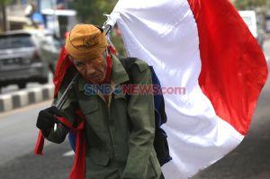 Hormati Perjuangan Pahlawan, Veteran Susuri Jalanan Kota Surabaya