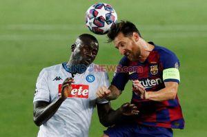 Taklukkan Napoli 3-1 di Camp Nou, Barcelona Lolos ke Perempat Final Liga Champions