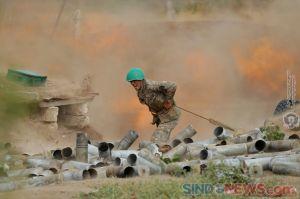 Perang Armenia-Azerbaijan Tewaskan Hampir 100 Orang