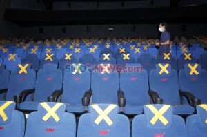 Suasana Bioskop CGV di Hari Kedua Beroperasi