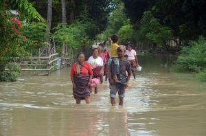 Banjir Bandang Rendam Ratusan Permukiman Warga di Kabupaten Malaka