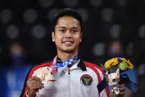 Anthony Sinisuka Sabet Medali Perunggu Olimpiade Tokyo 2020