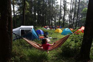 Lepas Jaringan Internet, Camping Bisa Jadi Alternatif Liburan Selama Belajar Daring