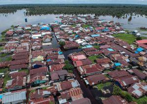 Banjir Meluas di Kota Palangkaraya,17 Kelurahan Terendam