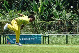 PON Papua XX : Tim Kriket Putra DKI Jakarta Menang