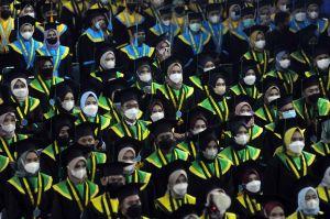 Wisuda Tatap Muka di Palembang